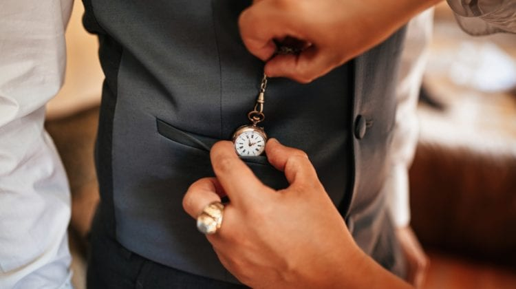 How To Wear A Pocket Watch With A Vest: Style Tips